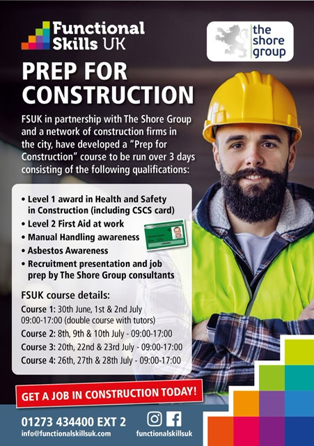 Skills shortage in construction – What The Shore Group are doing about it